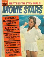 Elizabeth Taylor cover Movie Stars magazine 1965 The Beatles Elvis Presley
