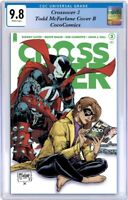 Crossover # 3 CGC 9.8 Image 2021. Todd McFarlane Cover B PRE-ORDER 01/06/2021