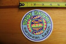 Spot Sport European Beach Volleyball Neon 80's V6 Vintage Surfing Sticker