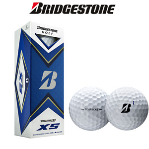 Bridgestone Tour B XS Golf Balls Dozen 2021 Model, 6,12, 18 or 24 Balls FREE P&P