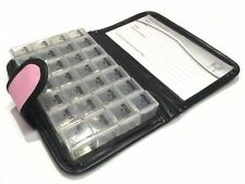 Tabletten-Box in Tasche: Pillenbox Medikamentenbox Medikamenten-/Pillen-Dosierer