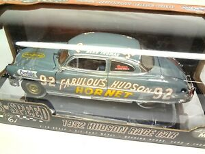 Origins of Speed 1:18 1952 Hudson Hornet # 92 Herb Thomas Race Car Highway 61