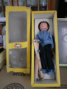 Vintage Pelham Puppet  Man with Original Instructions & Some Accessories
