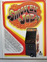 SMOKEY JOE 1978 By ATARI VIDEO ARCADE GAME PROMOTIONALBROCHURE