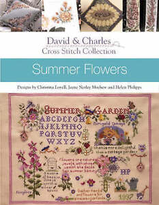 CROSS STITCH SUMMER FLOWERS, PAPERBACK, NEW BOOK