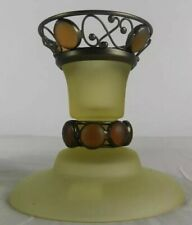 Partylite Paris Retro Taper or Tealight Candle Holder-P7687-New In Box