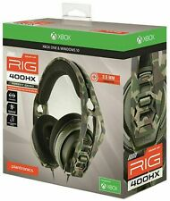 Plantronics RIG 400HX Xbox One and PS4 Headset - Forest Camo