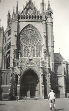 WWII Original German Army Large RP- Liberated- Metz Cathedral- Church- France 40