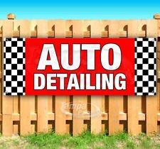 Auto Detailing Advertising Vinyl Banner Flag Sign Many Sizes Car Wash