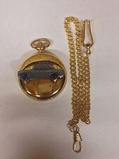 FORD Escort mk1 2 PORTE SAL. ref78 Effetto Peltro Emblema Oro Quarzo Orologio da taschino
