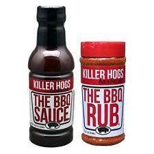 Killer Hogs Malcom Reed The BBQ Rub & Sauce Combo Pack