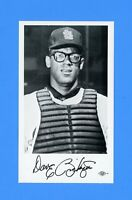 1965 ST LOUIS CARDINALS TEAM ISSUED POST CARD DAVE RICKETTS  NM-MT