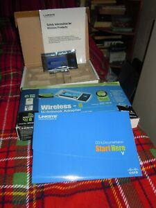 Linksys Wireless G Notebook Adaptor :: WPC54G