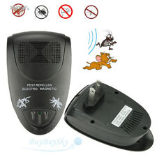 Ultrasonic Electronic Indoor Anti Mosquito Rat Mice Pest Bug Control Repeller