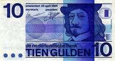 05 Netherlands / Niederlande P91b 10 Gulden 1968