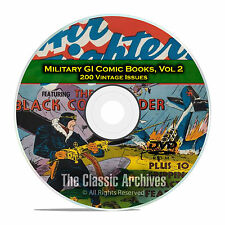 Military, Air Fighters, American Air Forces 200 Issues Golden Age Comics DVD D13