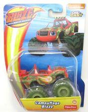 Nickelodeon Blaze and The Monster Machines  Camouflage Blaze Die Cast DGK44