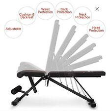 FLYBIRD Adjustable Incline Decline Flat Weight Bench 500 LB Weight Limit **NEW**