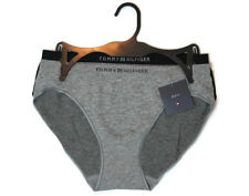 NWT LOT OF 2 TOMMY HILFIGER WOMENS BIKINIS SEXY UNDERWEAR PANTIES BLACK/GRAY -