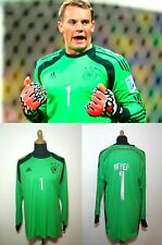 DFB Deutschland Manuel Neuer Torwart 2013 Trikot  XL Adidas Grün Germany Kit Men