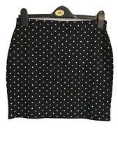 Newlook Polkadot Tube Mini Skirt Size 12