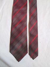 Cravate cravatte PRADA100% soie  TBEG  vintage