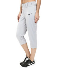 NIKE Women's Dri-FIT ll Diamond Invader 3/4 Fastpitch Softball Pant S