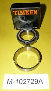 Oliver Front Wheel Bearing Set M-102729A 770 1550 1655 1755 tractor 155192A Hub