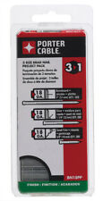 Porter Cable  18 Ga. Smooth Shank  Straight Strip  Brad Nails  2 in. L 900 pk