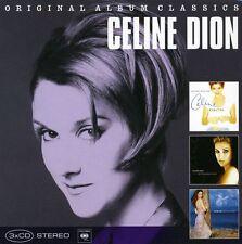 Original Album Classics - 3 DISC SET - Celine Dion (2010, CD NUOVO)