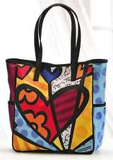 ROMERO BRITTO MEDIUM SATIN TOTE BAG - A NEW DAY