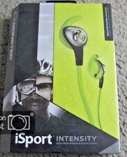 Monster iSport Intensity w/ Apple ControlTalk In-Ear Headphones - Green New