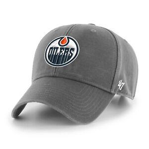NHL Edmonton Oilers Baseball Cap MVP Legend Charcoal 194602568560
