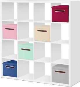 Faltbox 32,5 x 32,5 x 32,5 cm Aufbewahrungsbox Spielzeugkiste Kiste Korb Gold