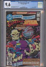 DC Comics Presents #28 CGC  9.6 : Orign of Mongul: KEY Issue: NEW Frame