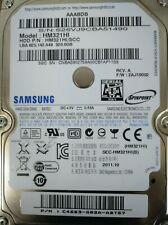 Disco Duro, HDD 2'5 320Gb Samsung HM321HI SATA 3Gb/s , en funcionamiento