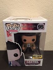 Funko Pop Supernatural #95 CASTIEL w/ WINGS Figure Hot Topic Exclusive