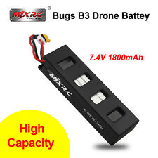 Original MJX Bugs 3 B3 Drone Quad Parts 25C 7.4V 1800mAh Li-Po Battery Recharge
