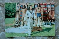 Film Kino Postkarte AK UNTER GEIERN 1964 Winnetou Pierre Brice Indianer Karl May