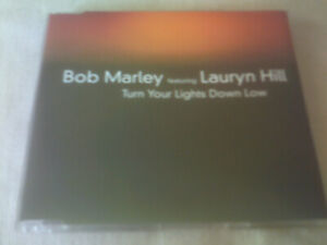 BOB MARLEY / LAURYN HILL - TURN YOUR LIGHTS DOWN LOW - UK CD SINGLE