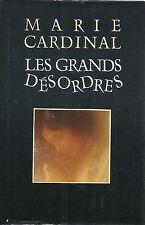 MARIE CARDINAL LES GRANDS DESORDRES