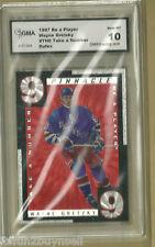 Wayne Gretzky 1997 Be A Player Take A Number Insert #TN8 GMA 10 GRADED GEM-MT