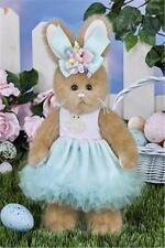 "Bearington Collection 10"" Prissy Peeps Spring or Easter Bunny Rabbit"
