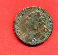 (REV 12) LOUIS XVI 12 DENIERS 1792 L'an 4 D (LYON) TB+