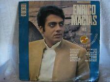 Enrico Macias - Disque D'or Des Six Annees De Chansons French Vinyl Record LP