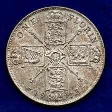 La Grande-Bretagne, George V, 1923 Florin, de haut grade (ref. c5384)