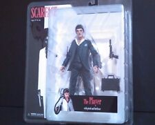 Scarface The Player Action Figure With Pistol And Briefcase Blue Suit 2005 Mezco