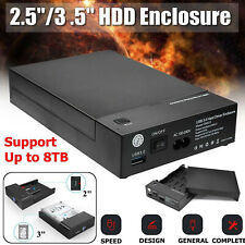 2,5 Pollici 3,5 Pollici Usb 3.0 Sata Hdd Box Case Nero Hdd Hard Disk Estern
