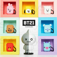 BTS BT21 Official Goods Silicone Charging Case Cube Ver For Apple Airpods + #