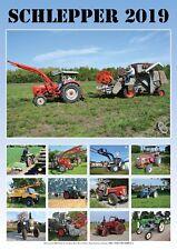 """A3-Fotokalender """"Schlepper 2019"""" (Traktor, Trecker, Bulldog)"""